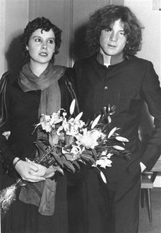 In this Sept. 13, 1974 file photo, J. Paul Getty III, right, stands beside his then bride Martine Zacher, after their marriage in the village of Sovicille, Italy. Getty, the troubled grandson of a U.S. multibillionaire oil magnate who once lost an ear in a grisly kidnapping, has died at age 54. His son, actor Balthazar Getty, confirmed Tuesday Feb. 8, 2011 that his father died Saturday Feb. 5, 2011 surrounded by his family at his English mansion in Buckinghamshire, northwest of London. The…