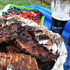 How to throw a Ribs BBQ without the hassle of prep #Riberty [AD}