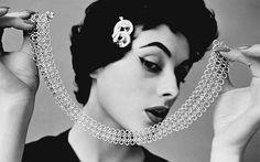 Mode - Portrait au collier
