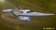 ArtStation - New Star Trek Animated Series - USS Enterprise NCC-1701-A, Simon Marino