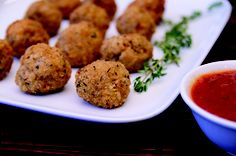 Risotto-Rosemary Balls with Philly, featured in our Real Women of Philadelphia Cookbook!