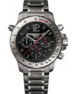 RAYMOND WEIL Genève > Nabucco 7850-TI-05207 Mens Watches - Steel and titanium Black dial with grey ceramic bezel   RAYMOND WEIL Genève Luxury Watches > Swiss Luxury Watches