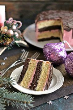 Juditka konyhája: ~ MÉTERES KALÁCSTORTA ~ Sweet Recipes, Cake Recipes, A Food, Food And Drink, Torte Cake, Hungarian Recipes, Confectionery, Cake Cookies, Vanilla Cake
