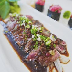 #restruant #Japenese #sushi #tataki #beef #vsco #Q1 by zw.723