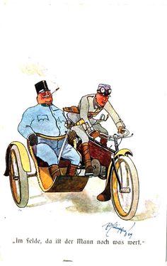 Austria, Austro Hungarian, Bavaria, Caricature, Samurai, Empire, War, Pictures, News