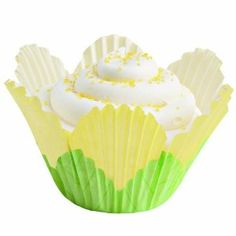 Wilton Yellow Petal Baking Cups - 24 for $7.43 on Amazon - also in pink or lavender!