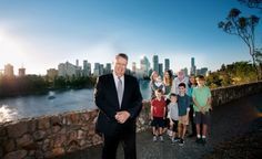 Triple P founder and UQ Parenting and Family Support Centre Director Professor Matt Sanders.
