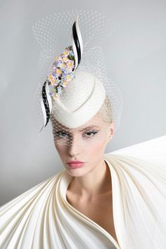 11f46e1f71dc6 Galleries of haute couture and ready to wear hat collections and handbags.  Maryjo Pelletier · At the Drop ...