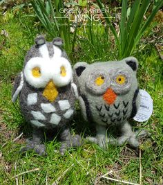 Oswald and Oliver - Owls and Best Friends - Sold as Set