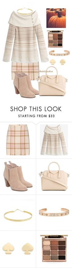 """autumn mod"" by abelis ❤ liked on Polyvore featuring MARC CAIN, White House Black Market, Michael Kors, Givenchy, Lana, Gucci, Kate Spade and Stila"