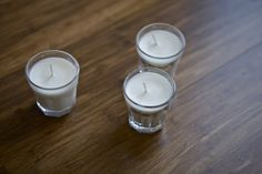 I LOVE Pinterest and found these crockpot candles! These would make perfect votive candles for the DIY bride! Here are the instructions:   How To Make Candles In A Crock Pot All you need is some wax, some wicks + wick bases, and some candle-holders. I used soy wax because it's vegan and I think it makes superior quality candles (just my preference, I love soy candles!). It's available at any craft store along with a selection of other options. I used precut wicks that came in...