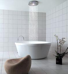 tub + shower head