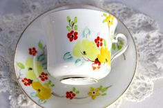 Vintage Phoenix China Teacup Tea Cup and by TheVintageTeacup