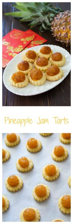 A Chinese New Year favorite but enjoyed year-round. Irresistible Pineapple Jam Tarts. Can't have just one!