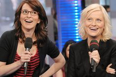 Feminism is the new funny  Tina Fey & Amy Poehler
