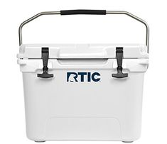 RTIC 20 Cooler. Great personal cooler. Equipped with a heavy-duty stainless steel handle for easy one-handed carrying. You can take this cooler anywhere!