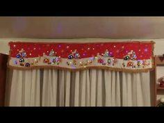 Cenefas Navideñas con Luces Incorporadas Pintadas a mano - YouTube Christmas Mantel Scarf, Christmas Mantels, Rustic Christmas, Christmas Humor, Christmas Decorations, Valance Curtains, Tartan, Snowman, Youtube