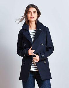 Women's Darlington Jacket in Dark Navy from Crew Clothing …