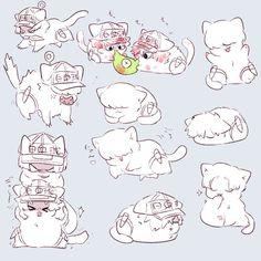 Cartoon Games, Manga Games, Manga Cute, Happy Tree Friends, Anime Love Couple, Blood Cells, Anime Kawaii, Webtoon, Dog Love