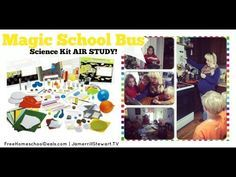 Magic School Bus Science Kit AIR STUDY! Join our homeschool family as we have fun doing homeschool science with the Magic School Bus AIR science kit! We tackle hands-on science projects and enjoy m...