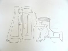 Contour Line Drawing Face : Contour line drawing by marinemantis3ye high school art