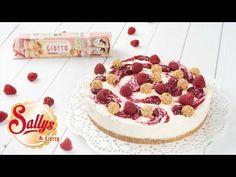Giotto Kühlschranktorte mit Himbeeren - Ohne Backen / No Bake Giotto Cake - Sallys Blog