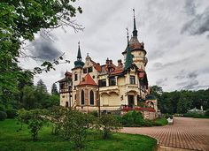 Chateaux Lešná Prague, Central Europe, What A Wonderful World, Amazing Architecture, Victorian Homes, Czech Republic, Wonders Of The World, Beautiful Places, Castles