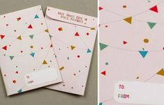 gift wrapping ideas and free printables