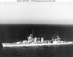 USS+Heavy+Cruisers | Picture of the USS Minneapolis (CA-36) Heavy Cruiser
