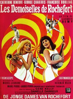 Les Demoiselles De Rochefort (AKA: The Young Girls of Rochefort) (1967)