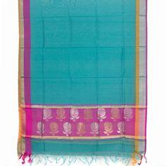Marm Handwoven Chanderi Silk Cotton Dupatta 10000682 - AVISHYA.COM