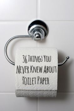 36 Weird Things You Never Knew About Toilet Paper