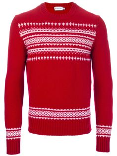 MONCLER - Fairisle Sweater