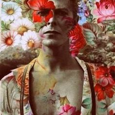 David Bowie With Flower Fan Art Collage Fabric Block -Buy Any Get Free! David Bowie With Flower Fan Art Collage Fabric Block -Buy Any Get Free! Art Du Collage, Flower Collage, Art Collages, Arte Pop, Illustrations, Belle Photo, Ikon, Pop Art, Art Photography