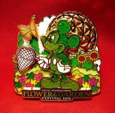 Epcot Flower and Garden Festival 2014 Exclusive Limited Release Pin