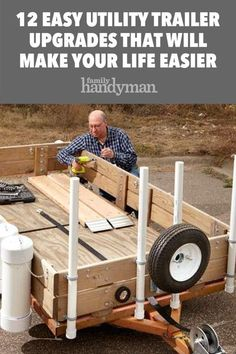 Upgrade taillights, tow balls and connections, tie-downs and more Trailer Ramps, Trailer Diy, Trailer Tires, Off Road Trailer, Trailer Plans, Trailer Build, Camper Trailers, Rv Campers, Trailer Light Wiring