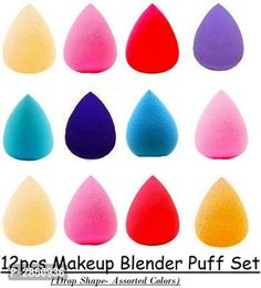 Collection of Make Up Brushes & Accessories from Stf Store Music Flower Gel Eyeliner, Hello Kitty Makeup, Makeup Sponge, Beauty Blender, Makeup Brush Set, Brushes, How To Make, Set Of Makeup Brushes, Blush
