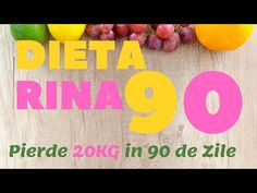 Dieta Rina Detaliata pe Zile, Reguli, Meniuri si Alimente Healthy Balanced Diet, Healthy Eating, Rina Diet, Healthy Weight Loss, Medicine, Healthy Food, Health, Eating Healthy, Healthy Diet Foods