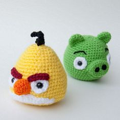 Angry Birds Yellow Bird & Pig | Karla Fitch | Flickr