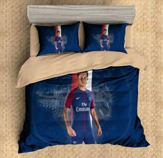 3D Customize Neymar Bedding Set Duvet Cover Set Bedroom Set Bedlinen 1)100% Microfiber,Soft and Comfortable. 2)Environmental Dyeing,Never Lose Color. 3)2017 Newest Design,Neymar,Fashion and Personality.
