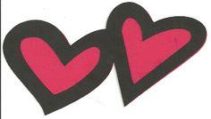Svg file 2 hearts