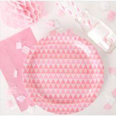 Gorgeous Pink Geo Pa...