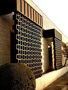 Mid-Century Concrete Screens   Flickr - Photo Sharing!