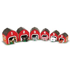 Melissa & Doug Nesting and Sorting Barn and Animals