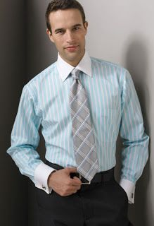 Menswear - The Men's Fashion : Custom Dress Shirts Styles