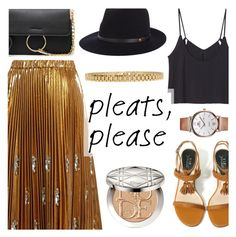 """""""Give Me Pleats, Please!"""" by dora04 ❤ liked on Polyvore featuring N°21, Christian Dior, rag & bone, AMBUSH and pleats"""