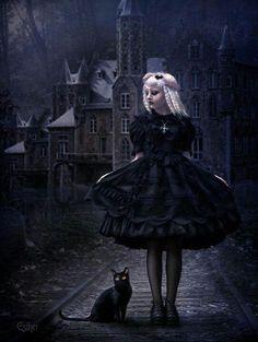 Gothic Lolita fantasy