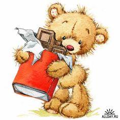 Illustration of teddy bear soft toys