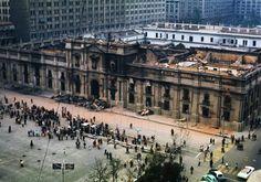 La Moneda. Herida de Chile