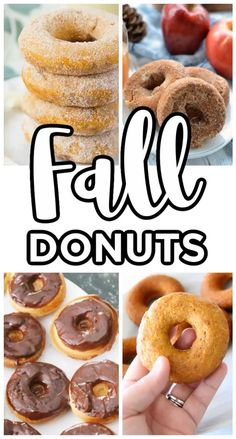 Pastries Recipes, Donut Recipes, Candy Recipes, Dessert Recipes, Woodland Christmas, Christmas Candy, Baked Donuts, Doughnuts, Thanksgiving Recipes